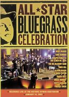 All Star Bluegrass Celebration DVD Live (New Old Stock}