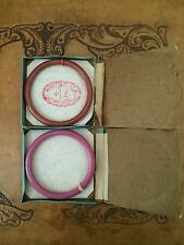 two antique Chinese Peking Glass Bangles Still In Original Box