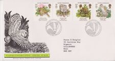GB ROYAL MAIL FDC 1986 NATURE CONSERVATION STAMP SET LINCOLN PMK