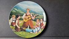 """""""Do-Re-Mi"""" (A), Sound of Music, Knowles,1986 Collector Plate Crnkovich, #Plt10"""