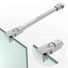 Edelstahl Stabilisator Gelenkverbinder Haltestange Duschwand Glaswand SDW21 wow