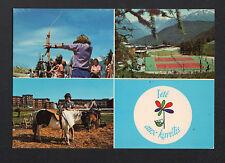 LES KARELLIS (73) TIR à l'ARC , TENNIS , MANEGE de PONEY / SPORTS d'été