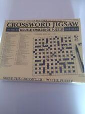 CRUCIVERBA PUZZLE, Doppia Sfida Puzzle 500 PEZZI GRATIS UK P & P
