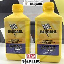 2 Litri BARDHAL XTM Synt 20w50 Olio Motore Moto 4T Formula Polar Plus