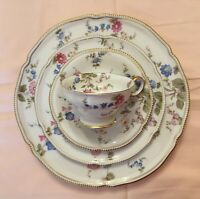 Antique Sunnyvale By Castleton China, 8 Place Settings, 57 Pieces