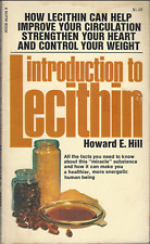 INTRODUCTION TO LECITHIN by Howard E Hill 1978 Vintage VTG paperback VERY GOOD!