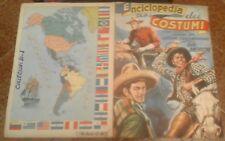 Album COSTUMI DELLE DUE AMERICHE (Intrepido, 1951c) - OTTIMO, COMPLETO !!!!!!!!