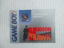 Notice Game Boy / Hudson Hawk Booklet nintendo retrogaming*