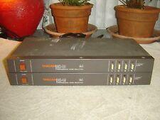 Tascam DX-4D Pair, DBX I, Pro Noise Reduction, 4 Channel, Vintage Units