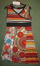 BNWT BOHO SUMMER DRESS  HIPPY 60,S RETRO DRESS TOP