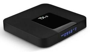 IP TV streaming Nuovo modello TX9 Android 8.1 TV Box 4K 3GB RAM /32 GB Smarbox
