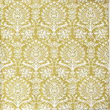 TOVAGLIOLI di carta 4x-ORO Royal damascato-per feste, Decoupage CRAFT