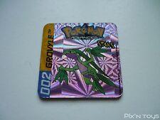 Magnet Staks Pokémon Advanced / 002 Grovyle / Panini 2003 [ Neuf ]