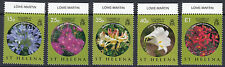 ST HELENA :2008 Flowers at Christmas set SG1073-8 MNH