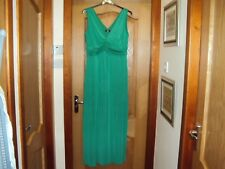 Wallis Ladies Full Length Dress, With Stretch, Size 16