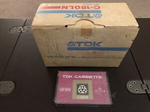 """1 TDK C-180 LN Cassette Tape (Sealed With """"10 Pack"""" Box)"""