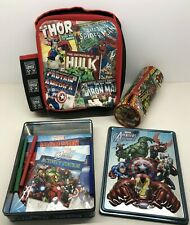 CHILDRENS LUNCH PACK MARVELS SUPER HEROES BUNDLE SEE LISTING DESCRIPTION