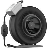 """Inline Duct Fan Exhaust Air Blower Cooling Ventilation 4"""" 6"""" 8"""" 10"""" 12"""" inch"""