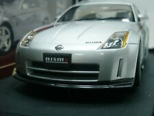 WOW EXTREMELY RARE Nissan Fairlady Z Nismo S-Tune RHD 2002 Silver 1:18 Auto Art