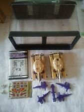 transformers g1 blitzwing Lot Of Two