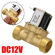 DC 12V 3/4 INCH Normally Closed Brass Electric Solenoid Valve Water Control