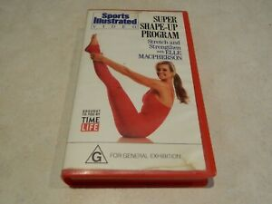Sports Illustrated Video: Super Shape-Up Program with Elle MacPherson VHS {rare}