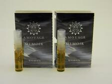 2 x Amouage MEMOIR WOMAN EDP Eau de Parfum 2ml Vial Spray New With Card