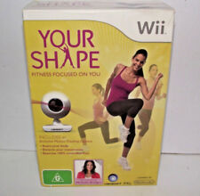 Boxed Your Shape Wii PAL *Complete* With Motion Tracking Camera