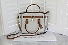 Michael Kors Hamilton Designer Ladies Satchel Vanilla New w/tags Shipped from AU