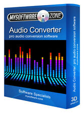 AUDIO Pro Convertitore di file Converti SOFTWARE AUDIO WAV, MP3, WMA, MP2, M4A, ecc.