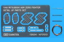 Tamiya 1:48 A6M Zero Detail Parts Set Tam12624-W