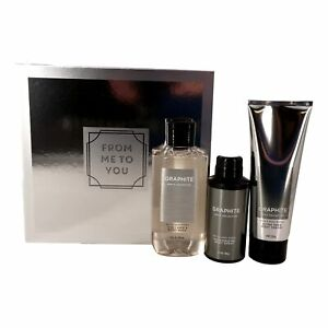 """GRAPHITE FOR MEN Gift Box Set"""" For Me To You"""" - 2-in-1 Hair + Body Wash, Ultra"""