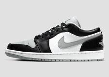"NEW Air Jordan 1 Low ""Shadow"" Smoke Grey 553558-039 Men's Sizes 9.5-13"
