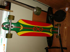 Dregs Rasta rare 41 in Longboard downhill drop through used condition sector