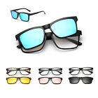 AT UV400 Polarized Magnet Flip-up Lenses Sunglasses Myopia Glasses Clip-on