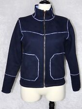 Columbia Convert Womens Small to Medium Jacket Coat Blue & Baby Blue