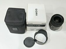 Sigma 35mm F1.4 DG HSM for Nikon