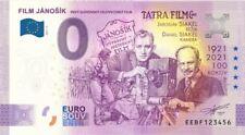 0 Euro Schein EEBF 2021-2 FILM JANOSIK NEUES DESIGN