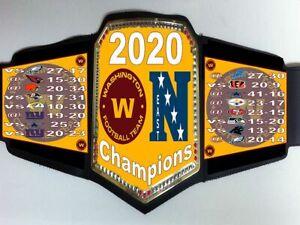 Washington Football Team 2020 NFC East Division Champions Championship Belt