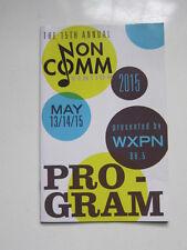 Non Comm program Brian Wilson  Billy Bragg Shelby Lynne Wynonna Judd