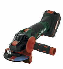 Parkside Cordless Angle Grinder 125mm Disc with battery and charger.