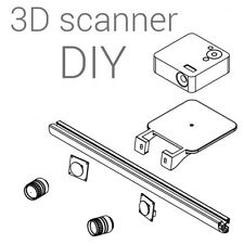 3D scanner DIY kit