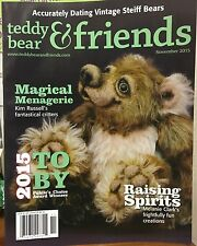 Teddy Bear And Friends Magazine November 2015
