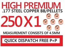 BB PELLETS .177 4.5MM PREMIUM STEEL COPPER AIR METAL PELLET ROUND BB's bb