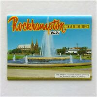 Rockhampton Qld Gateway To The Tropics 1978 View Folder Postcard (P407)