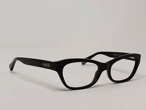 Coach Womens Eyeglasses HC 6045 Dahlia 5002 Black Frame Only 53[]18 135 A&S