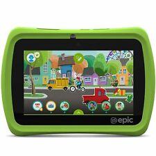 7 31576 16GB LeapFrog Epic White & Green Educational Tablet