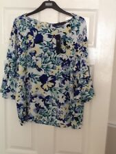 PRETTY TOP SIZE 10 FROM M&S BNWT RRP £22.50
