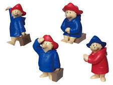 Japan 441 Labo Paddington Bear Set 4 Gashapon Capsule Collection Mini Figure NEW