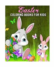 Easter Coloring Books For Kids: A Fun Coloring Book Filled With... Free Shipping